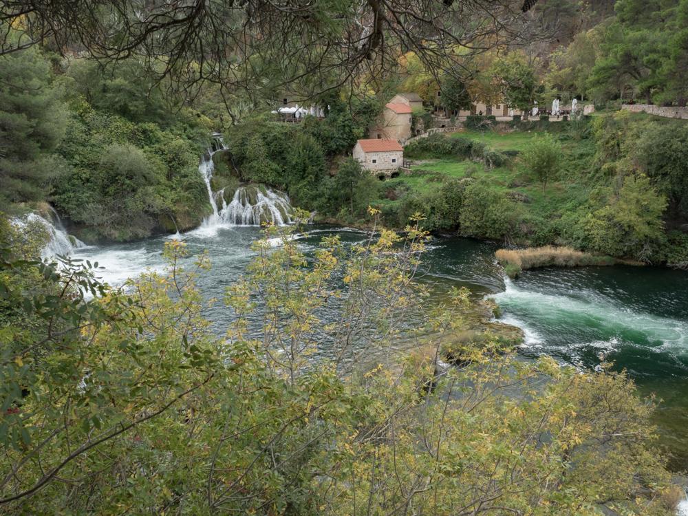 Ausflug in den Krka Nationalpark