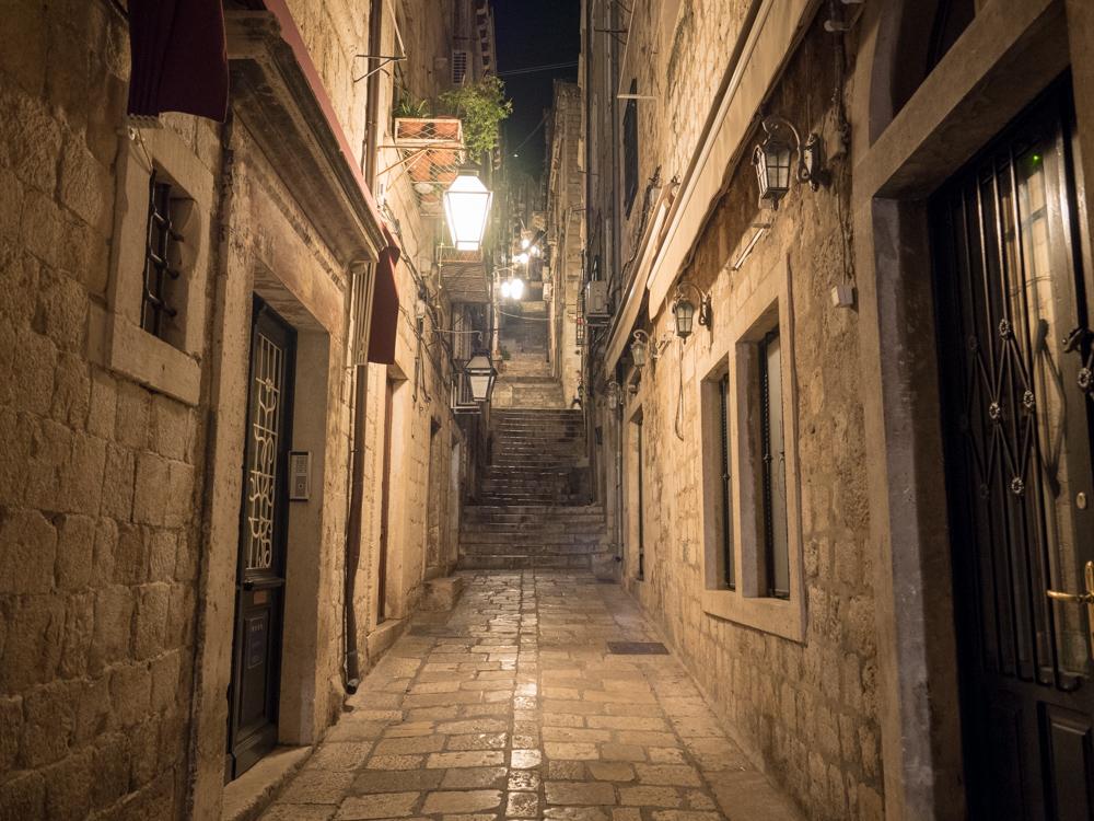 In den Gassen von Dubrovnik