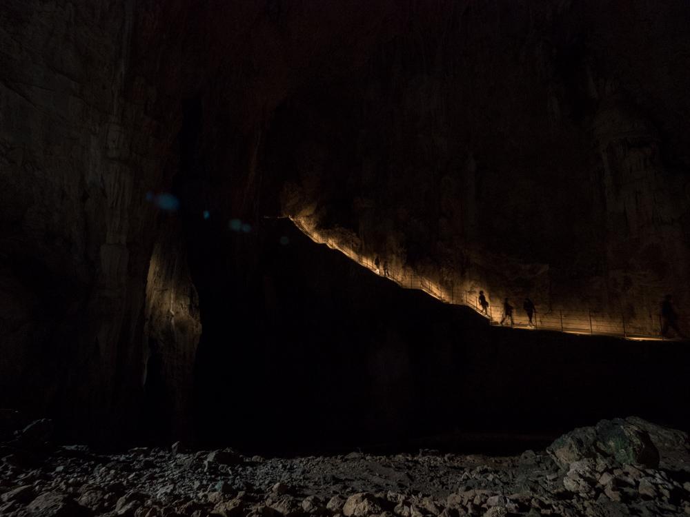 In den Höhlen von Škocjan