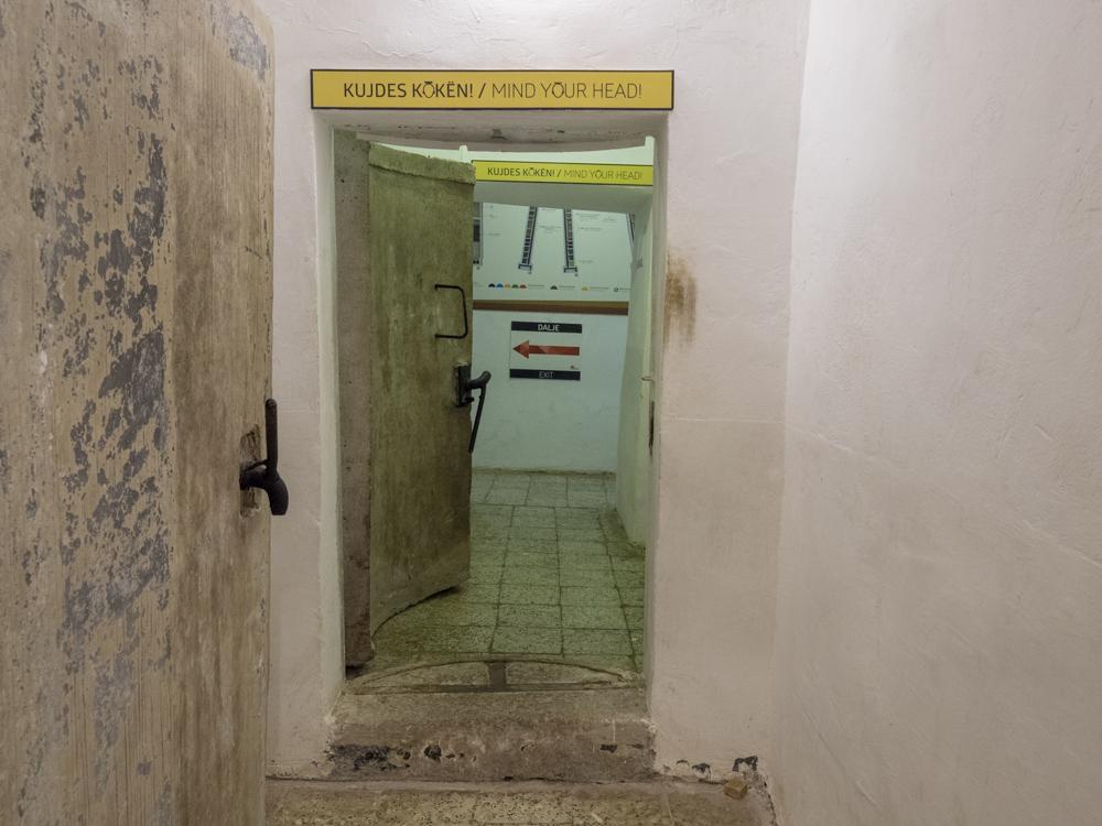 Im BunkArt Museum, dem ehemaligen Top-Secret Nuklearbunker aus dem kalten Krieg