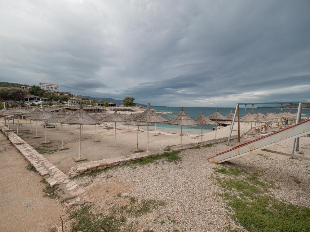 Strand in Ksamil