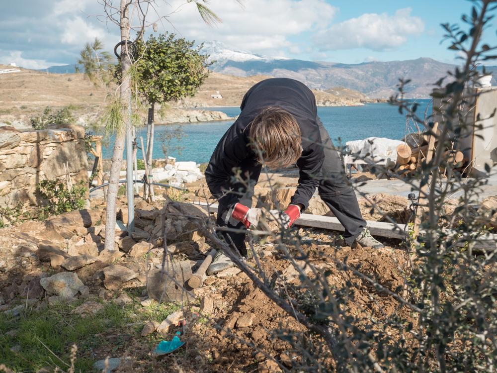 Gartenarbeit für zwischendurch