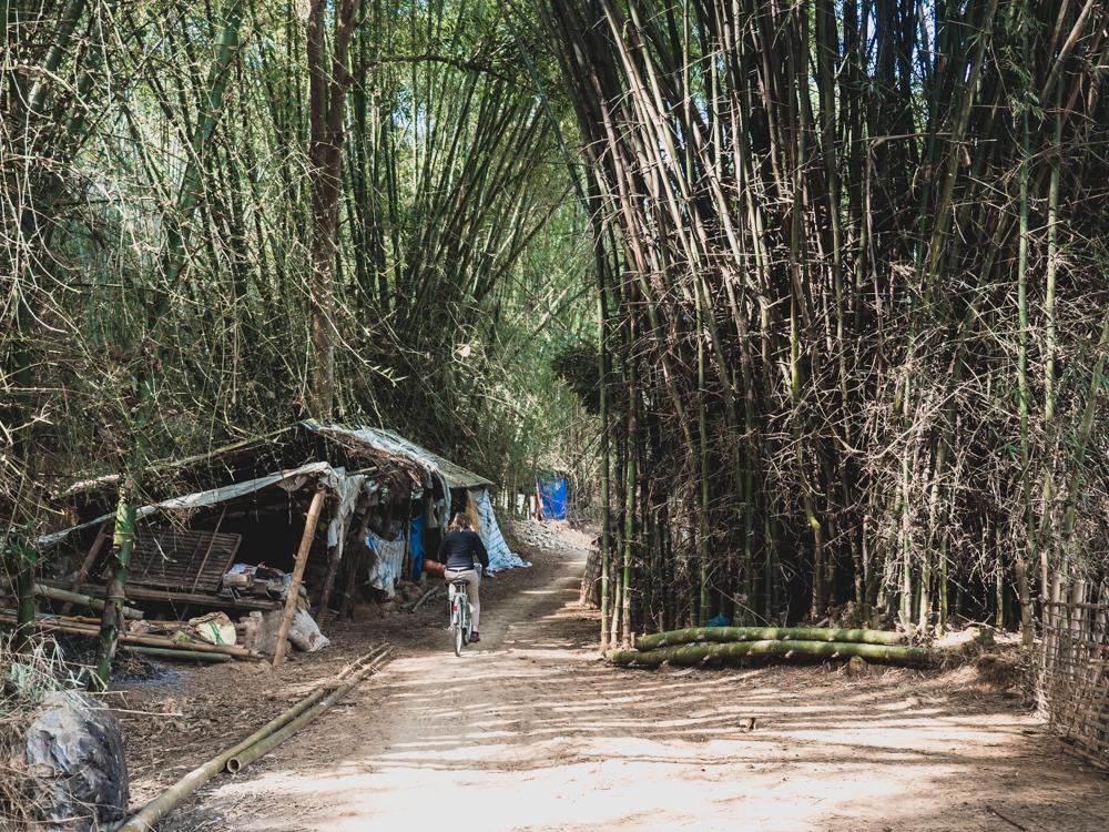 Kleine Velotour in Mai Chau