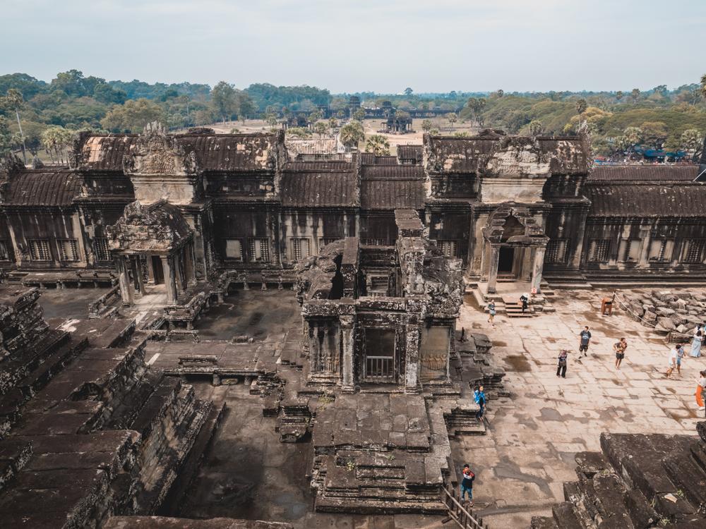 Aussicht in Angkor Wat