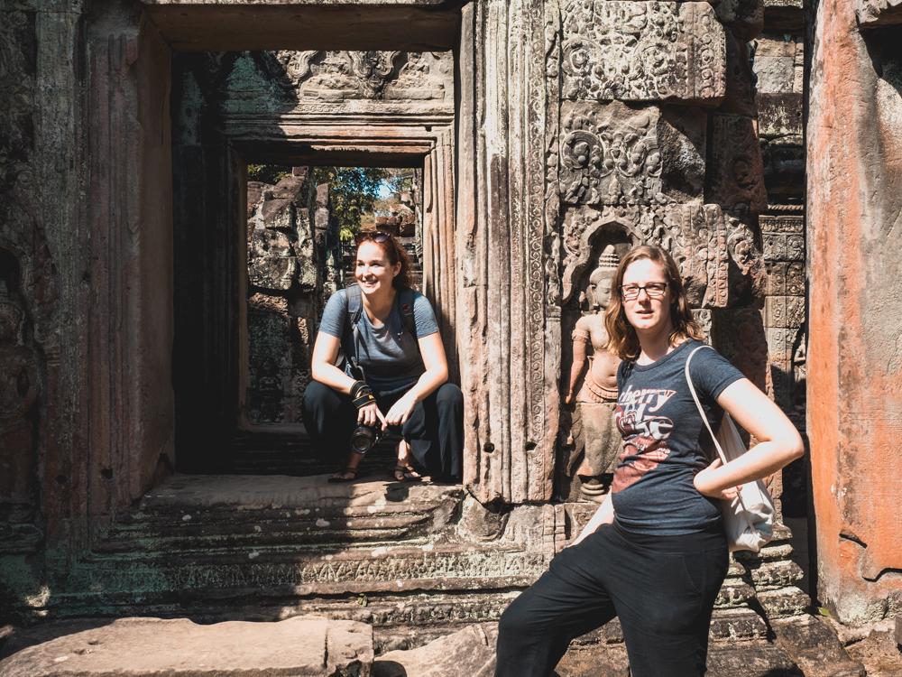 Im Preah Khan Tempel