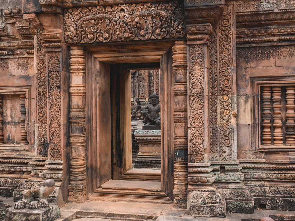 Der Banteay Srei Tempel