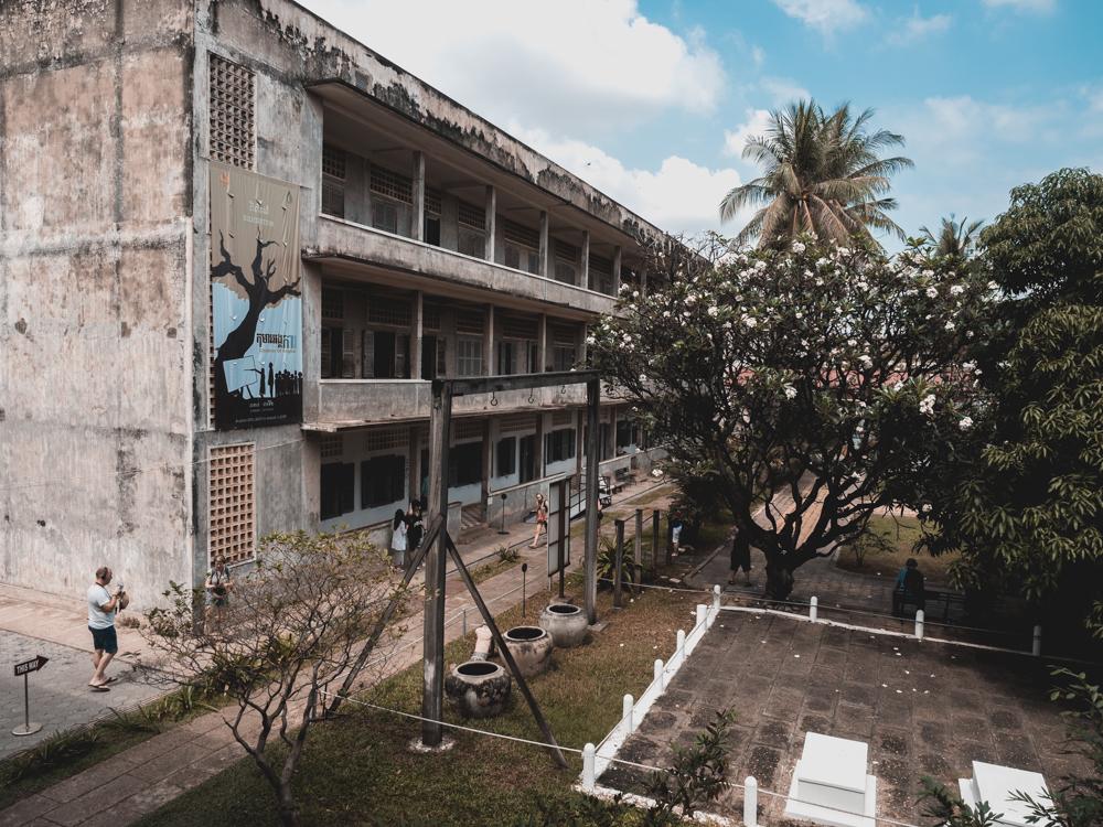 Im ehemaligen Gefängnis S-21 der Roten Khmer