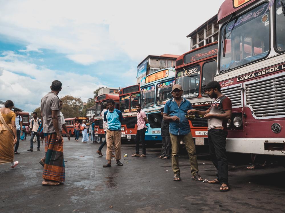 Welcher Bus fährt wohl nach Dambulla?