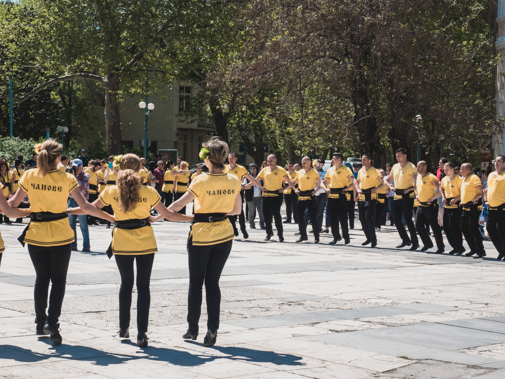 In Plovdiv geht die Post ab