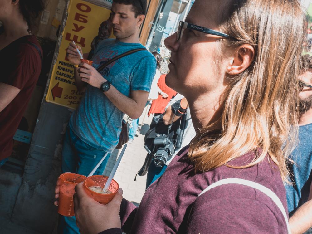 Gurkensuppe auf der Foodtour
