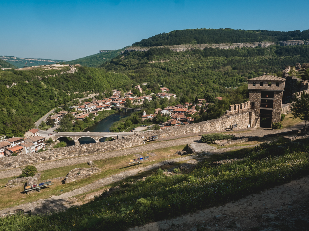 Die alte Festung von Weliko Tarnovo