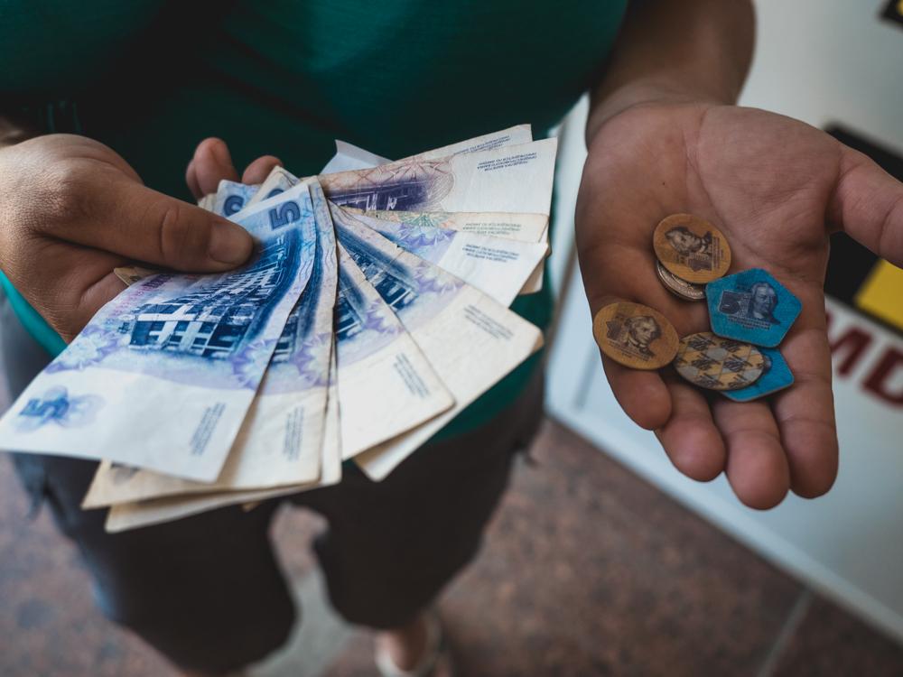 In Transnistrien haben sie sogar ihre eigene Währung, der Rubel