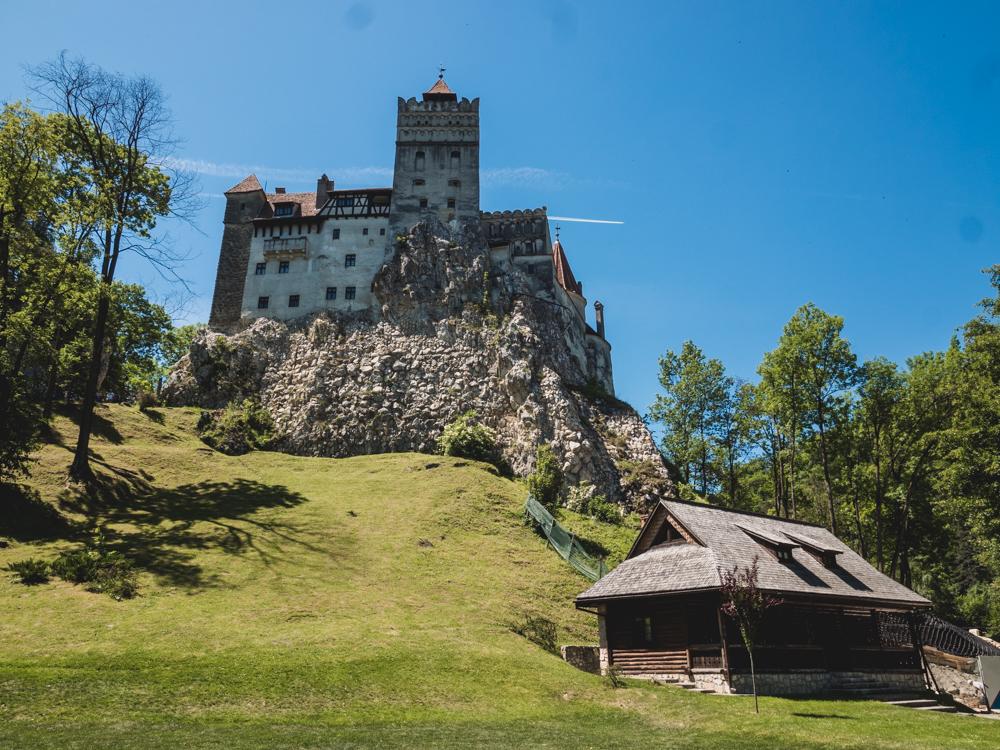 Das Draculaschloss in Bran sieht ganz friedlich aus