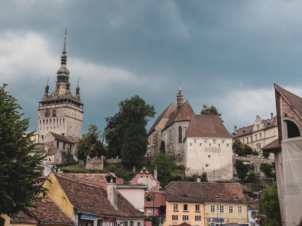 Die Altstadt von Sighisouara / Schässburg
