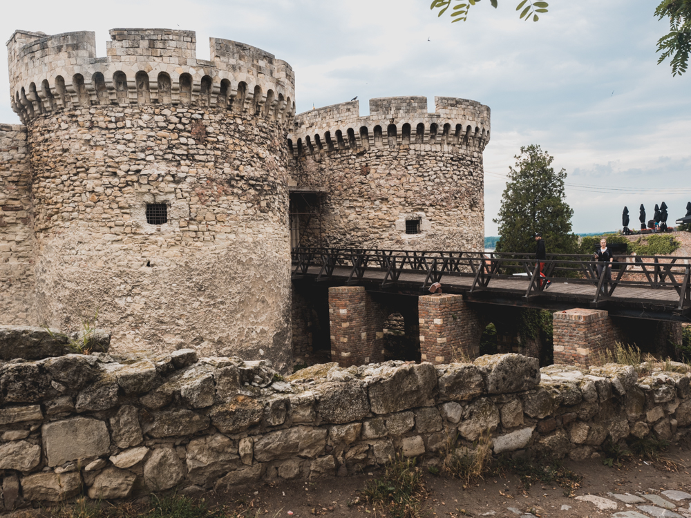 Die Festung von Belgrad Kalemegdan