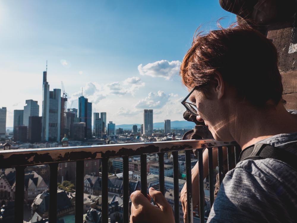 Aussicht auf die Skyline