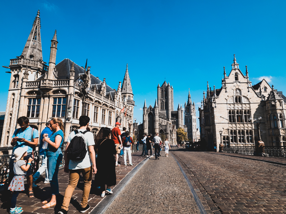 Abstecher in Gent auf dem Weg nach Frankreich