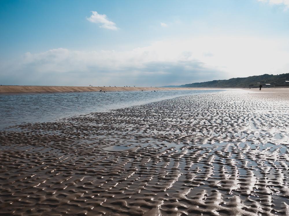 Ohama Beach: einer der bekannten Landungsstrände