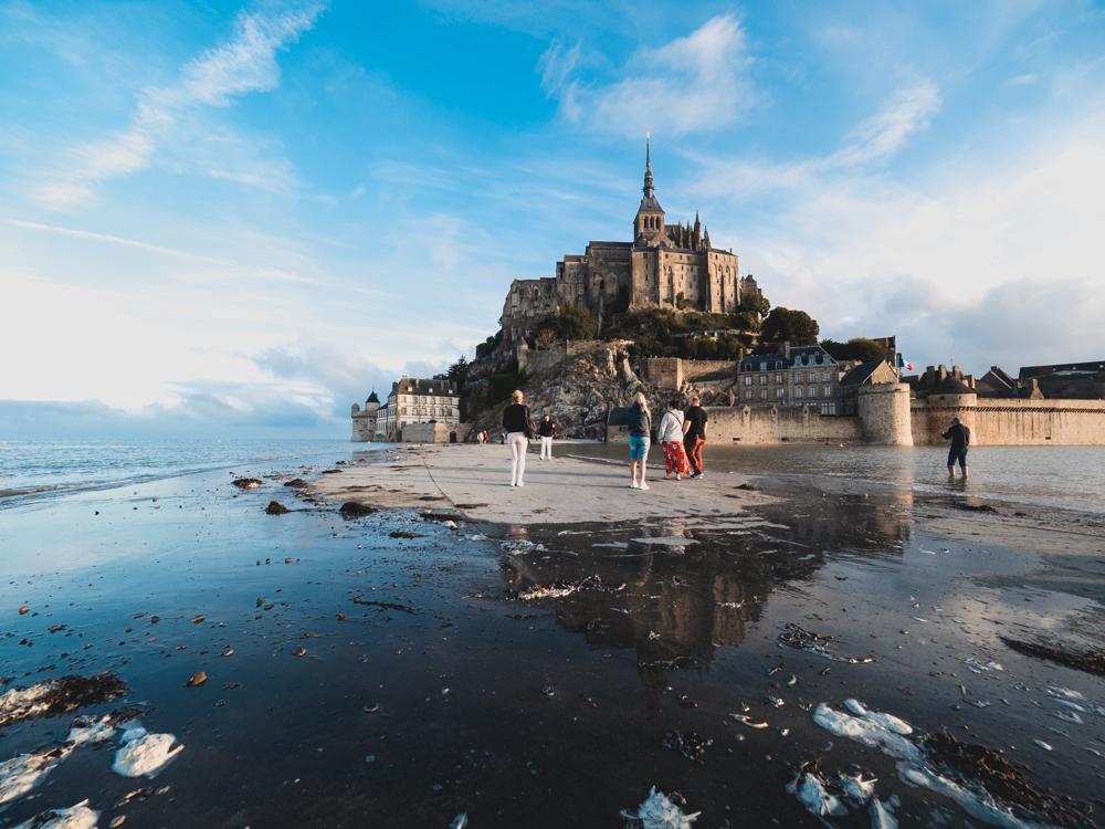 ...und weil's so schön war schon wieder der Mont Saint-Michel