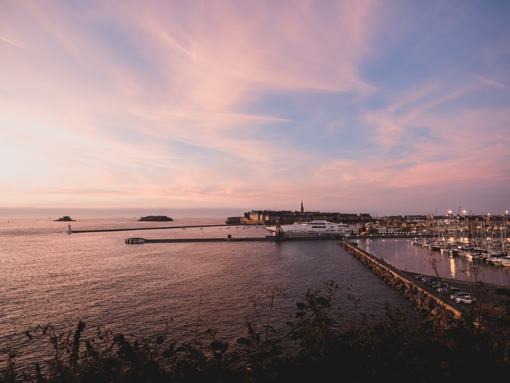 Blick auf Saint-Malo