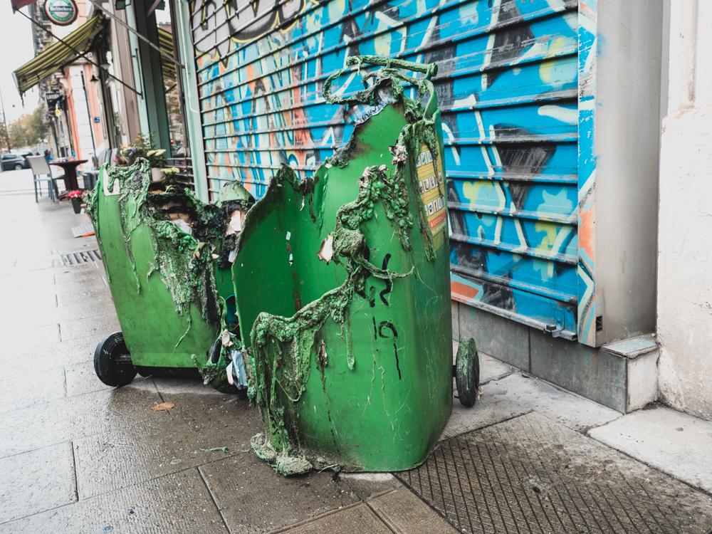 Kunst oder Vandalismus?