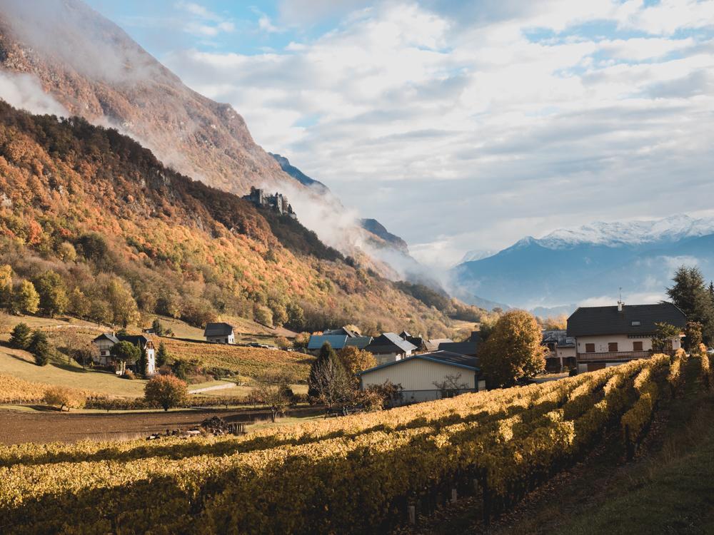 In der Savoie wird es richtig herbstlich
