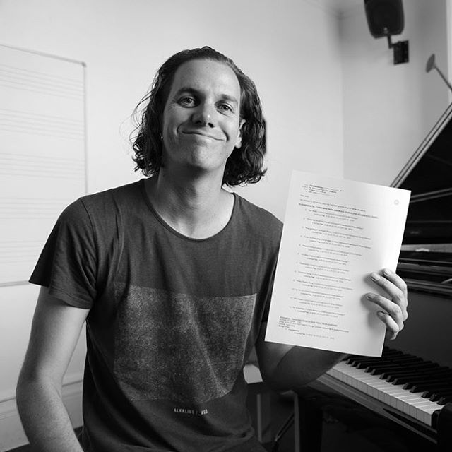 Just obtained my licence to release my upcoming solo #piano #Radiohead songbook. More details to come shortly.