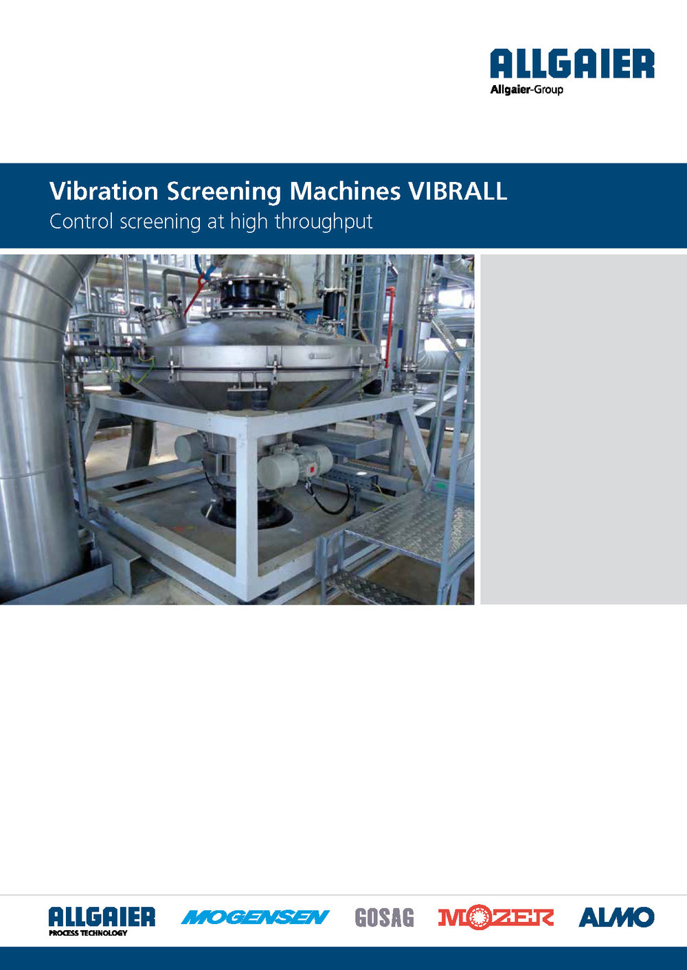 Vibration Screening Machines VIBRALL