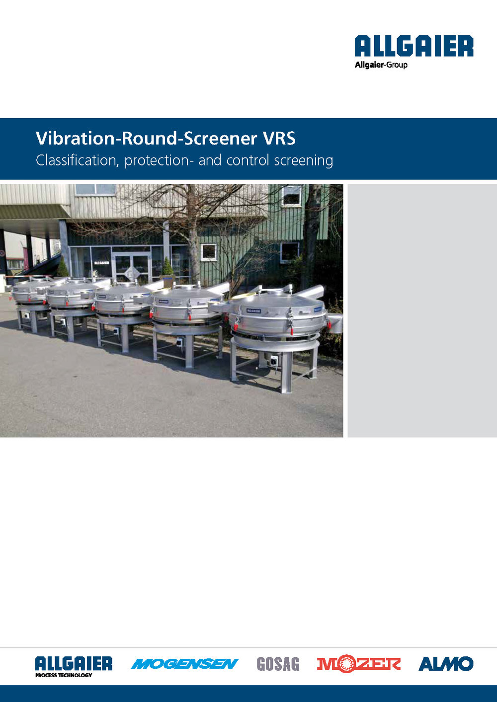 Vibration Screening Machine VRS