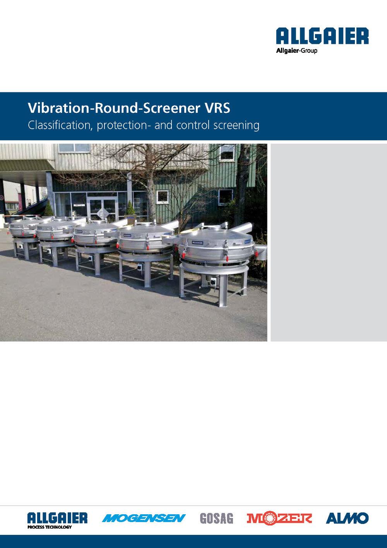 Vibration Screening Machine VRS