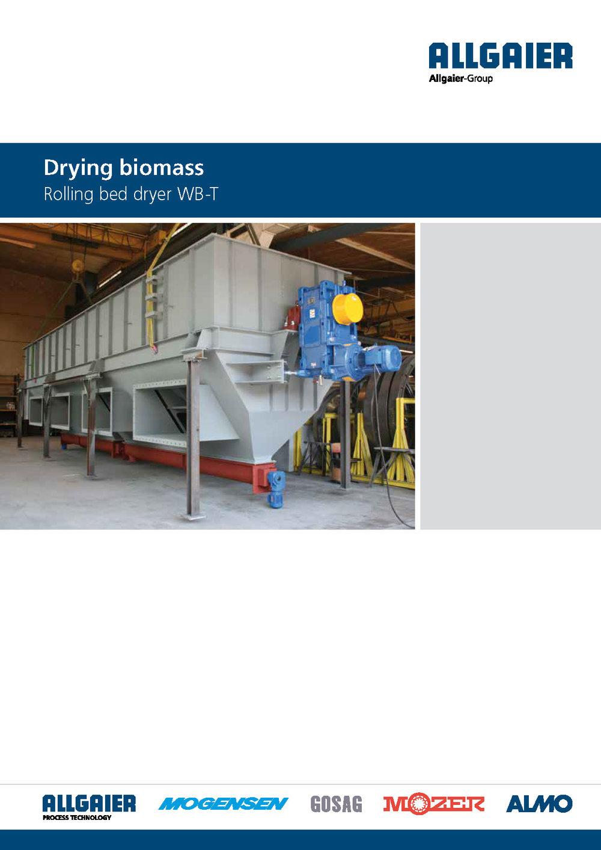 Drying biomass