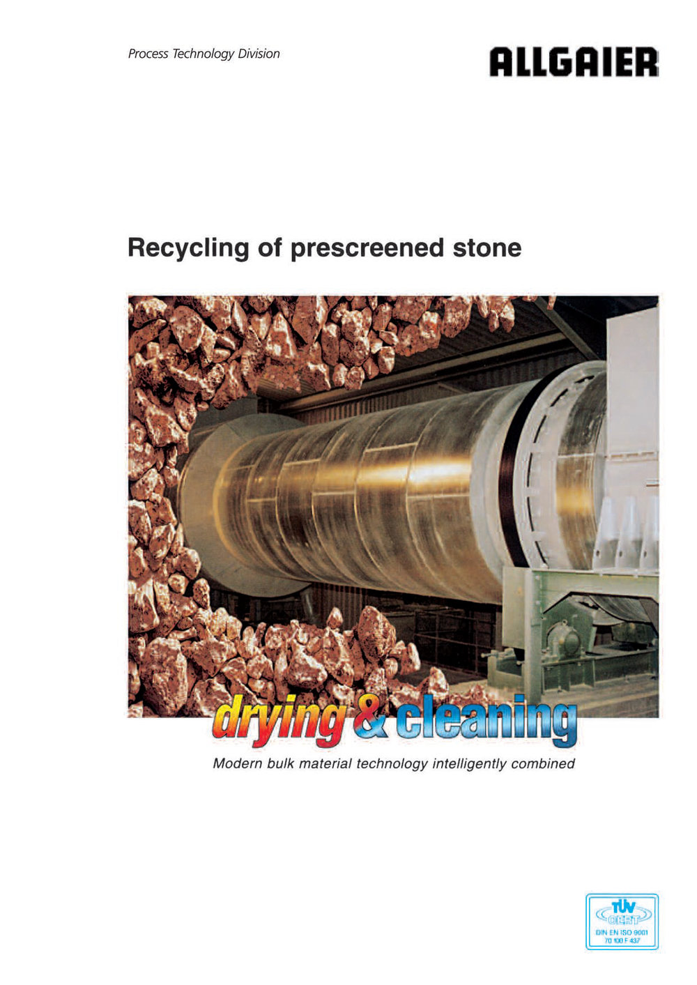 Recycling of prescreened stone