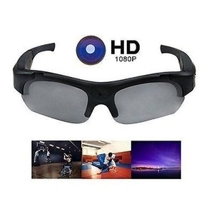 f7af2e55eabf 1080p HD  5 Megapixels Sports Video camera sunglasses   UV 400 Polarized  Lens