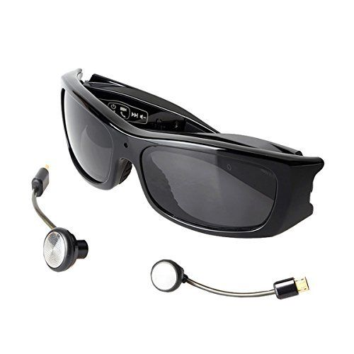 c90567a8ad4b FULL HD BLUETOOTH MP3 VIDEO SUNGLASSES ( 4 IN 1)   UV 400 POLARIZED LENS