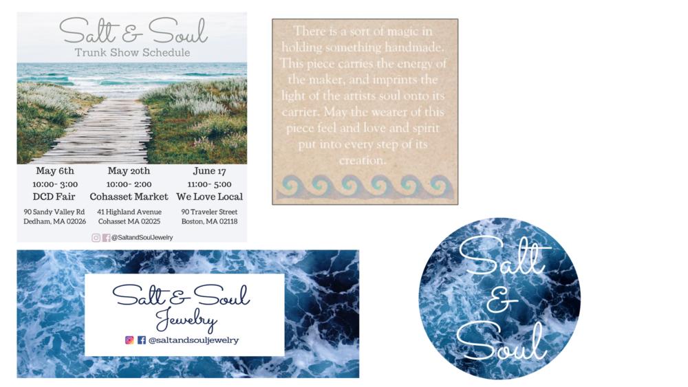 Branding Materials - Schedule, banner, packaging and logo design.