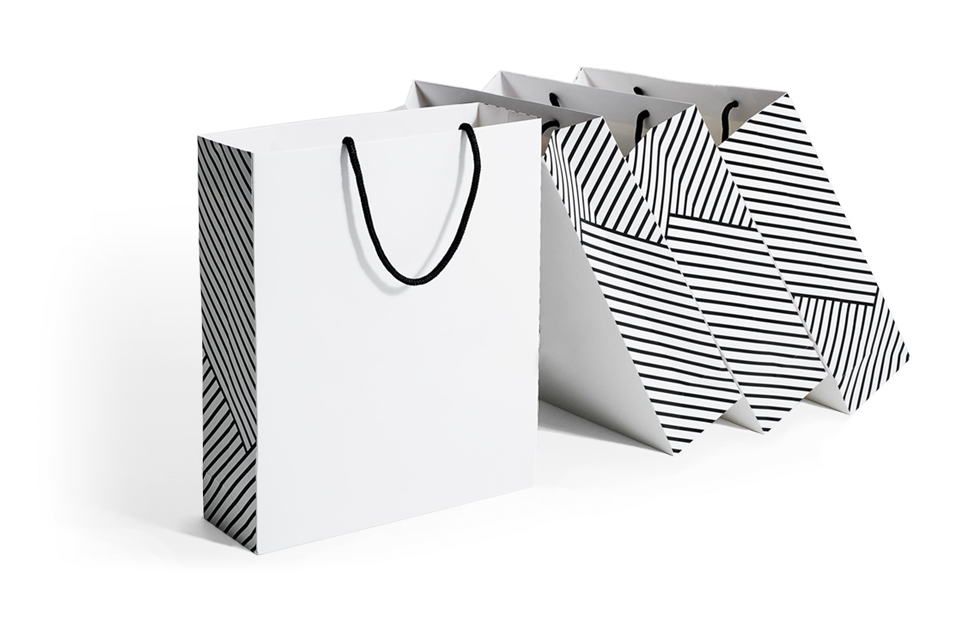 Stone Paper Retail Bags