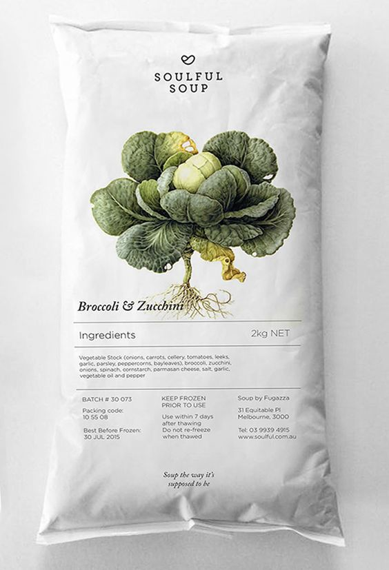 Sustainable Food Packaging