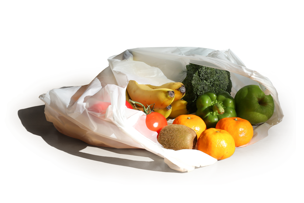 Stone Paper Sustainable SInglet Supermarket Bags