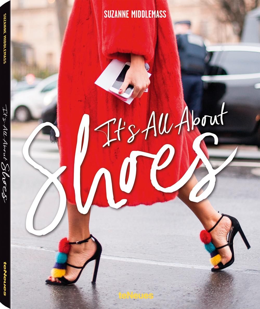 Biblia oricarei iubitoare de pantofi si de frumos. Posesoare a unui portofoliu care include nume precum Vogue, ELLE si Glamour, fotografa de street style Suzanne Middlemass creeaza o antologie a incaltarilor purtate si iubite de catre doamne din toata lumea. Disponibila  aici .