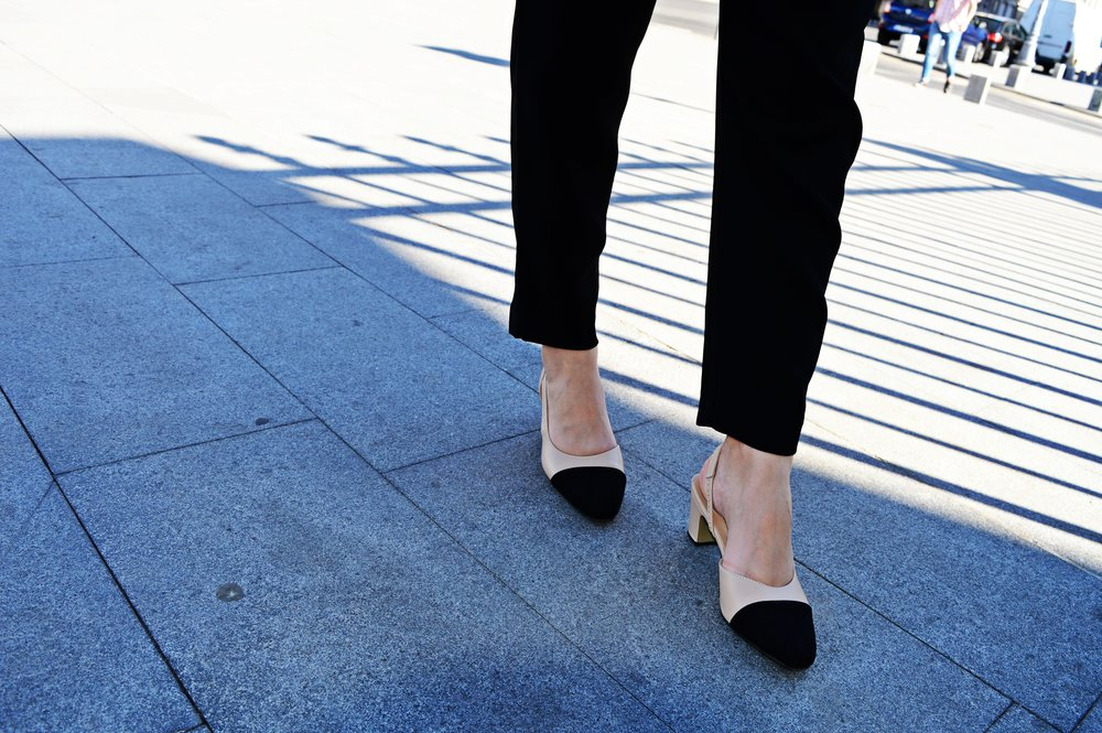 Shoe of the year - All-in-one slingbacks