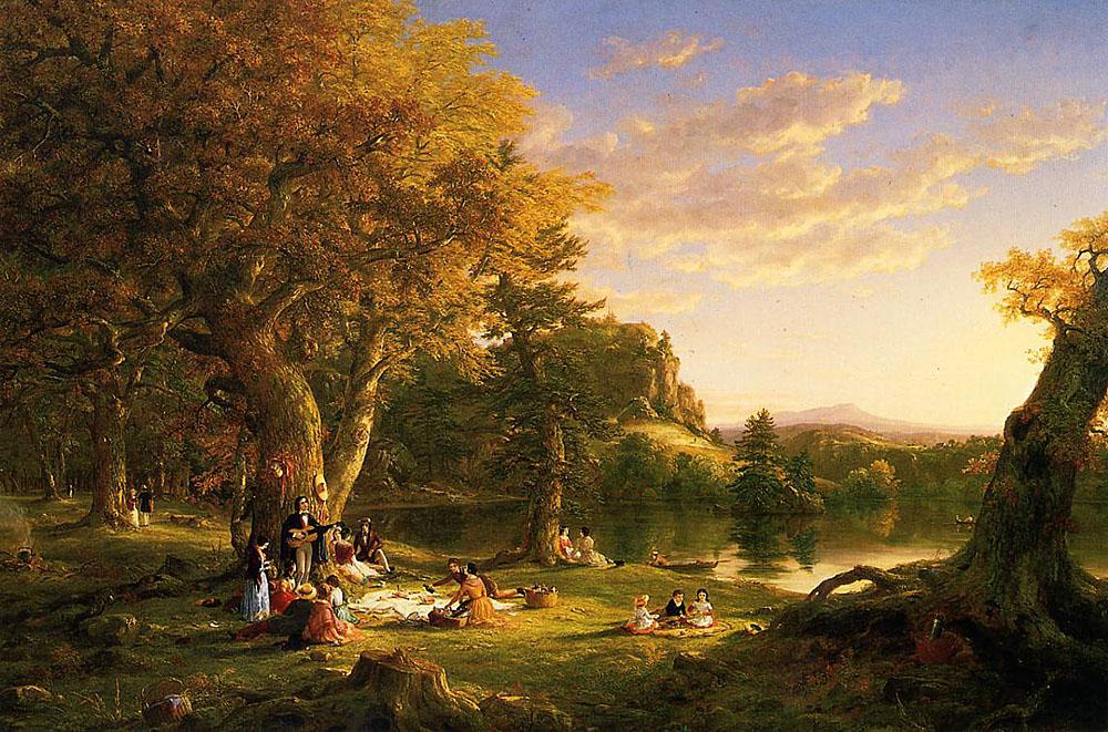 Thomas Cole, 'The Picnic' (1846)