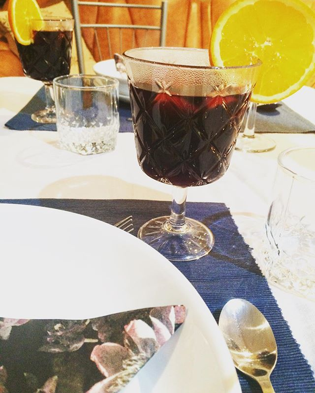 31st of December/ 1st of January🍷 #glœgg #winter #redwine #happynewyear #happytogether
