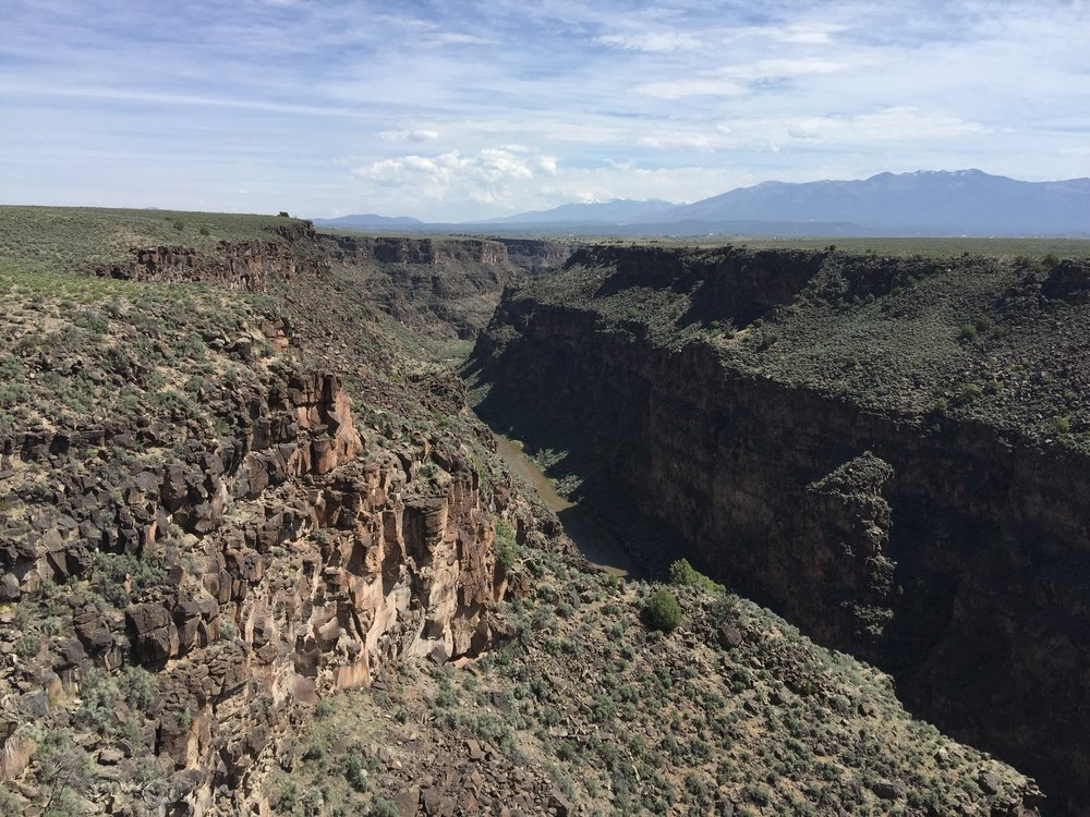 Rio Grand Gorge looking north