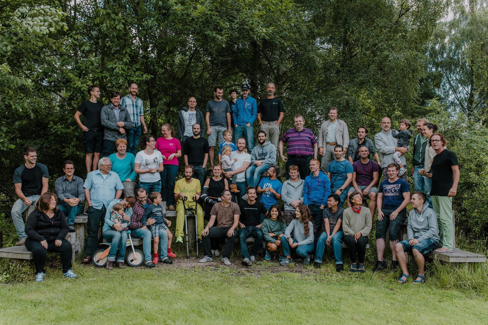 QGIS 2017 Group Photo by Maryanne Dawson