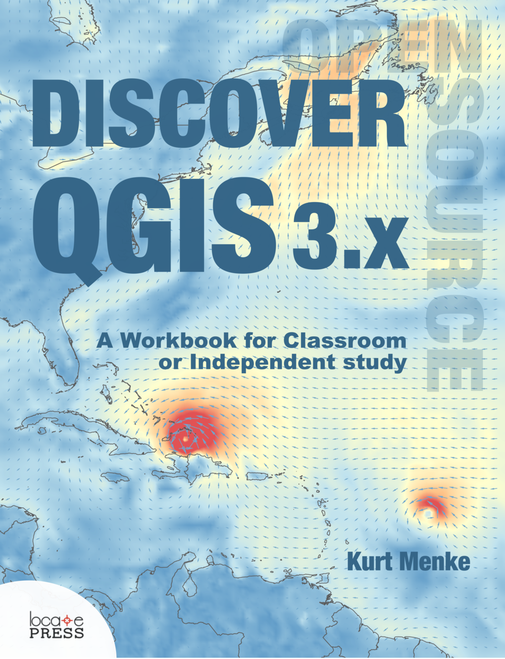 Discover QGIS 3.x -Spring 2019 - Updated for QGIS 3.6 (long-term release)A workbook for classroom or independent studyLab exercises based on the GeoAcademyData, Discussion questions & Solution files includedChallenge exercisesLearn enhanced workflows with QGIS 3.xCovers Spatial analysis, Data management & CartographyNew section - Advanced Data VisualizationBlending modes | Live layer effects | Expression-based symbology | Geometry generators | Time Manager | 3D | Mesh dataAvailable in Print and e-Book400 pages$35https://locatepress.com/books