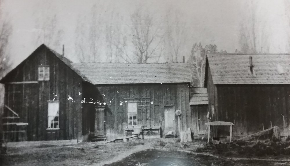 Tetherow Homestead c. 1915