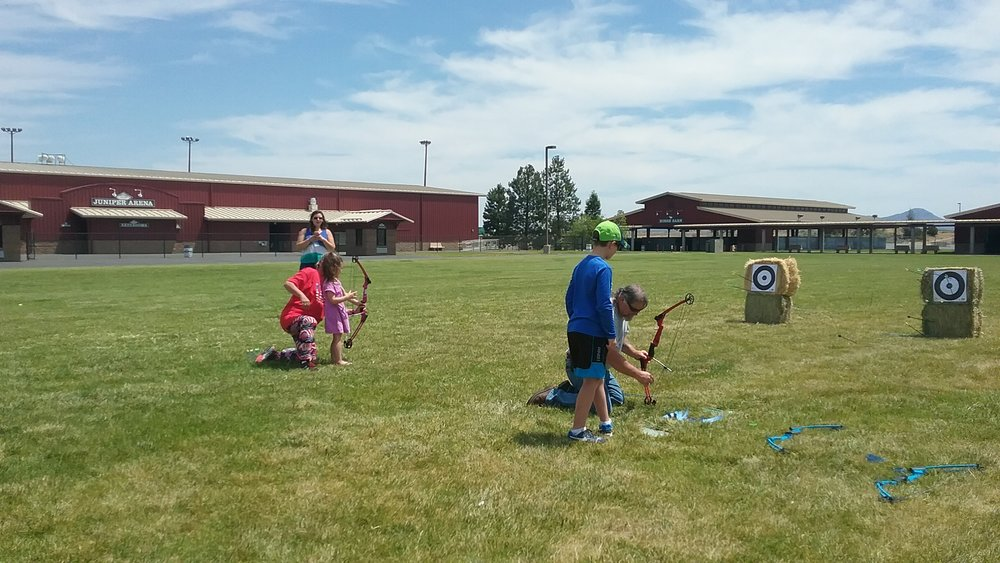 Even the littlest archers were right on target!