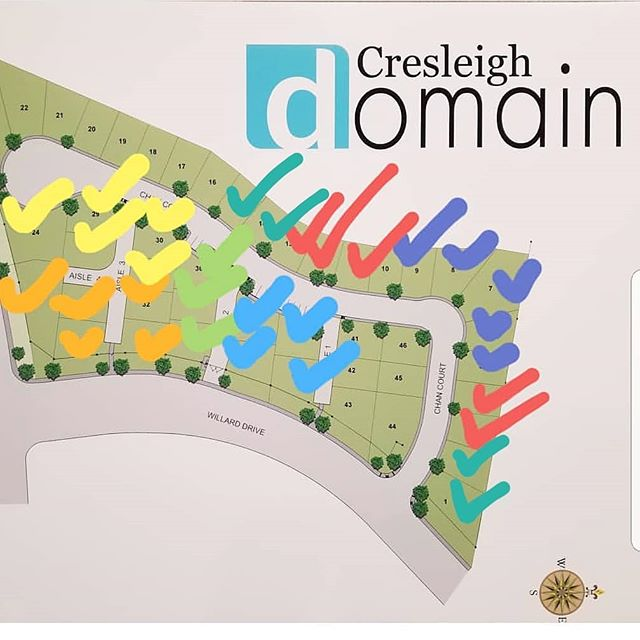 Release 7 at Cresleigh Domain is now sold!!! We have fourteen homes remaining in future releases, including the models.