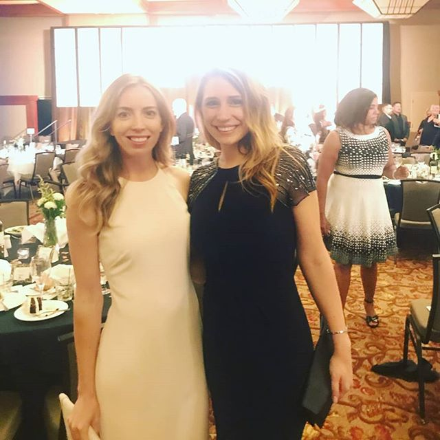 @karlyyfries and I got all spiffed up for MAME 2018, celebrating top achievers in the new home industry. Congratulations Karly and her team at Jeffrey DeMure &  Associates for winning Best Architectural Design - Attached, for their work at The Mill on Broadway!
