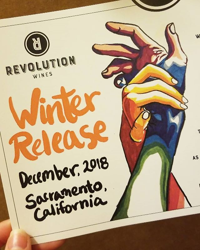 Reallllllly excited to get into this batch from @revolutionwines with @tamarar18!